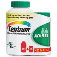 Centrum Adult Multivitamin 365 tablets + Bonus 60 tabs