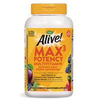 Alive! Multi-Vitamin Minerals (No Iron Added) 180 tablets Nature