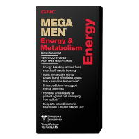 Mega Men Energy & Metabolism Multivitamins 90 caplets GNC