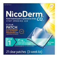 Nicoderm Step1 (21mg 21patches)