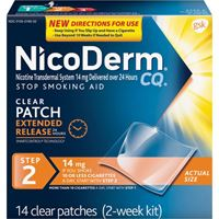 Nicoderm Step2 (14mg, 14patches)