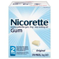 Nicorette Gum 2mg 170ct Original