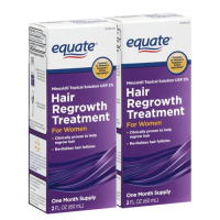 equate Hair Regrowth Treatment For Women 2% (60ml) x 2bottles
