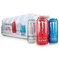 Monster Ultra Variety Pack (16oz 24pk) 473ml