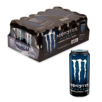 Monster Absolutely Zero Energy 473ml (16oz) x 24