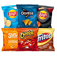 Frito Lay Flavor Mix Variety Pack 28.3g (1oz) x 50ct.