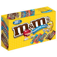 M&M's チョコレートキャンディーバラエティー 30袋入り