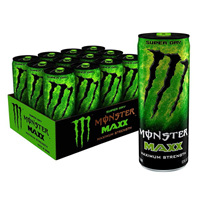 Monster Energy Extra Strength Super Dry 355ml (12oz) x 12
