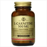 L-Carnitine 500mg 60 tablets