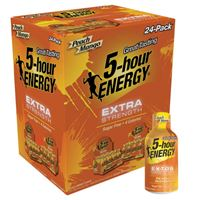 5-Hour Energy Extra Strength Peach Mango 57ml (1.93oz) x 24