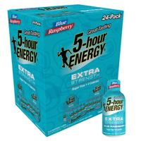 5-Hour Energy Extra Strength Blue Raspberry 57ml (1.93oz) x 24