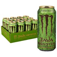 Java Monster Coffee Energy Drink Irish Blend 443ml (15oz) x 12