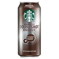 Starbucks Doubleshot Energy Coffee Mocha 443ml (15oz) x 12
