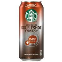 Starbucks Doubleshot Energy Coffee Hazelnut 443ml (15oz) x 12