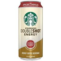 Starbucks Doubleshot Energy Coffee Spiced Vanilla 443ml x 12
