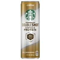 Starbucks Doubleshot Coffee and Protein Coffee 325ml (11oz) x 12