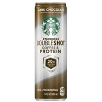 Starbucks Doubleshot Coffee and Protein DarkChocolate 325ml x 12