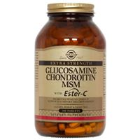 Extra Strength Glucosamine Chondroitin MSM with Ester C 180 tabl