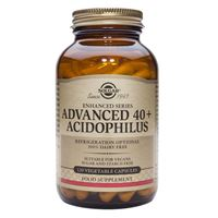 Advanced 40 Plus Acidophilus 120 vegetable capsules