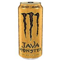 Monster Java Salted Caramel Energy Drink 444ml (15oz) x 12 cans