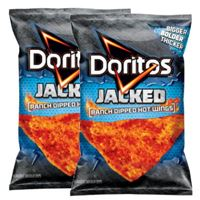 Doritos Jacked Ranch Dipped Hot Wings 9.5 oz (269.3g) x 2bags