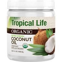 Tropical Life Organic Extra Virgin Coconut Oil 54 fl oz (1596ml)