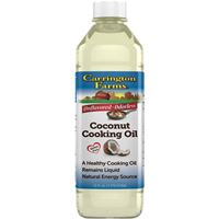 Carrington Farms Liquid Coconut Cooking Oil 16 fl oz (473ml)