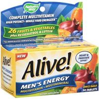 Alive! Men's Energy Multivitamin 50 tablets (Nature's Way)