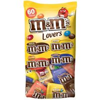 M&M'S Chocolate Lovers Variety 937.8g (33.08 oz) 60 Pieces