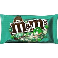M&M'S Mint Dark Chocolate Candy Bag 288.88g (10.19 oz ) x 2
