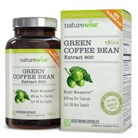 NatureWise Green Coffee Bean Extract Ultra Pure with GCA 60 Caps