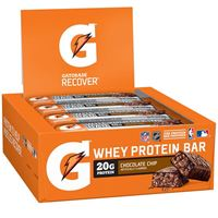 Gatorade Recover Protein Bar Chocolate Chip 80g (2.8oz) x 12bars