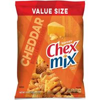 Chex Mix Savory Cheddar Snack Mix 425g (15 oz) x 4bags