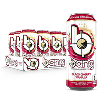 Bang Energy Drink Black Cherry Vanilla 473 ml (16 oz) x 12