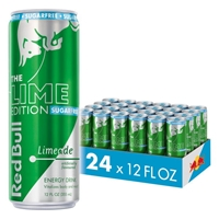 Red Bull Lime Edition Sugarfree Energy Drink 355ml (12oz) x 24