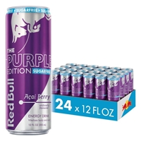 Red Bull Purple Edition Sugarfree Energy Drink 355ml (12oz) x 24