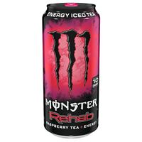 Monster Rehab Raspberry Tea + Energy 458ml (15.5oz) x 24
