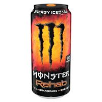 Monster Rehab Tea + Energy + Orangeade 458ml (15.5oz) x 24