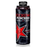 Rockstar Punched Resealable Cap-Can 710ml (24oz) x 12