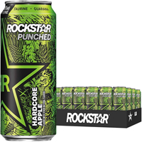 Rockstar Hardcore Apple 473ml (16oz) x 24 cans