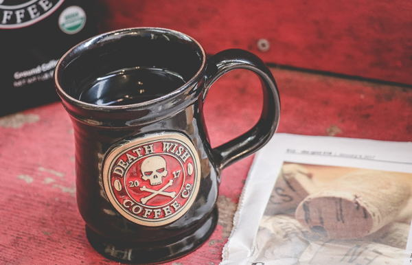 Death Wish Coffee Ceramic Mug (10 oz) 295 ml