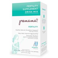 Premama Fertility Supplement Drink Mix Unflavored 28 Packets 2.17 oz (62 g)