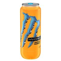 Monster Hydro Tropical Thunder 16.9 oz x 12 cans