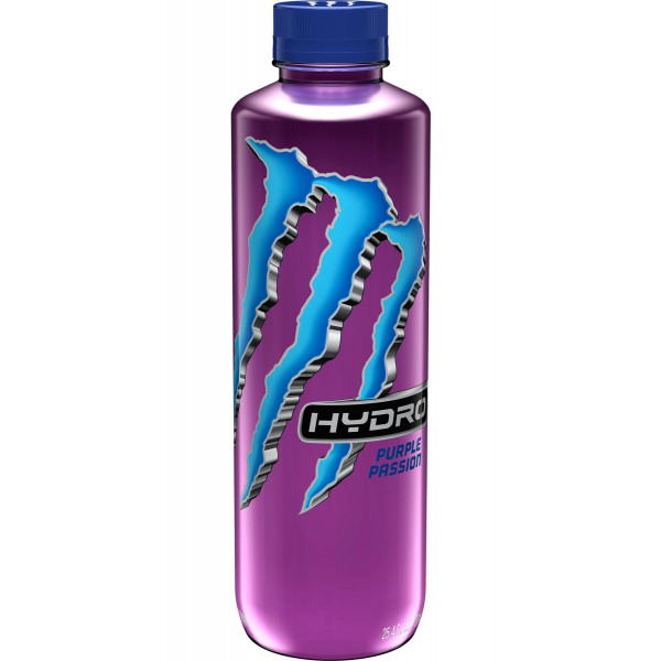 Monster Hydro Purple Passion 750 ml (25.4oz) x 12