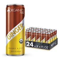 Red Bull Organics Ginger Ale Organic Soda Drink 250ml (8.4 oz) x 24