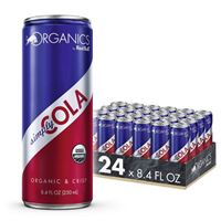Red Bull Organics Simply Cola Organic Soda Drink 250ml (8.4 oz) x 24
