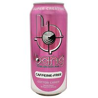 Bang Caffeine Free Energy Drink Cotton Candy 473 ml (16 oz) x 12