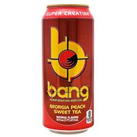 Bang Energy Drink Georgia Peach Sweet Tea 473 ml (16 oz) x 24