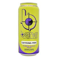 Bang Caffeine Free Energy Drink Purple Guava Pear 473 ml (16 oz) x 12
