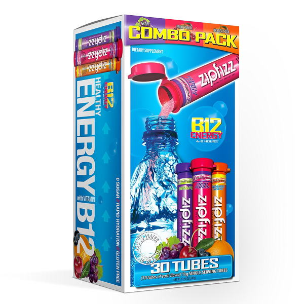 Zipfizz Energy Drink Mix Variety Pack (30 ct)